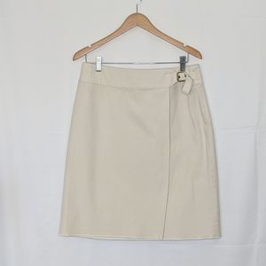 EUC Talbot's crossover skirt with buckle.